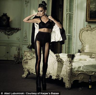 Victoria Beckham on Harper's Bazaar Magazine December 2009 sexy pictures
