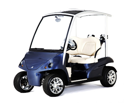 World's Most Exclusive Golf Cart new pics