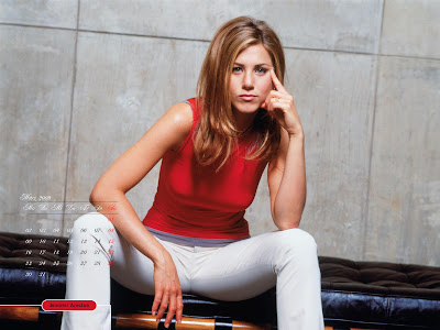 Jennifer Aniston Desktop Calendar march pics