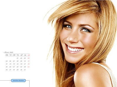 Jennifer Aniston Desktop Calendar mai pics
