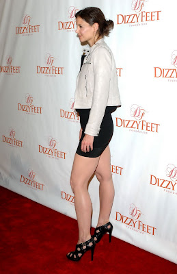 Katie Holmes Legi at Dizzy Feet Foundations Inaugural Celebration photoshoot