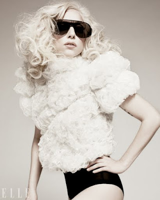 Lady Gaga Photo Shoot For ELLE Magazine January 2010