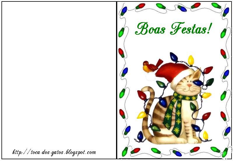 Facilidade Cartões De Natal Para Imprimir