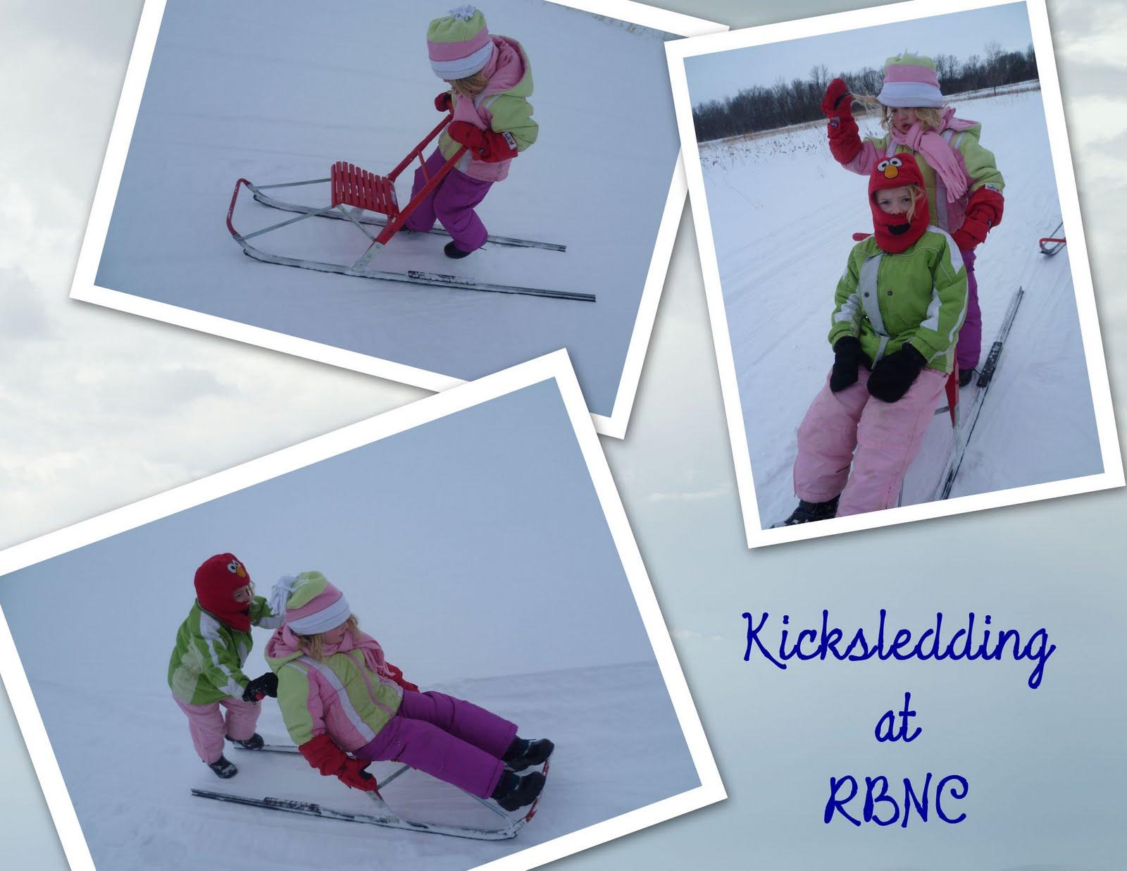 Kicksledding