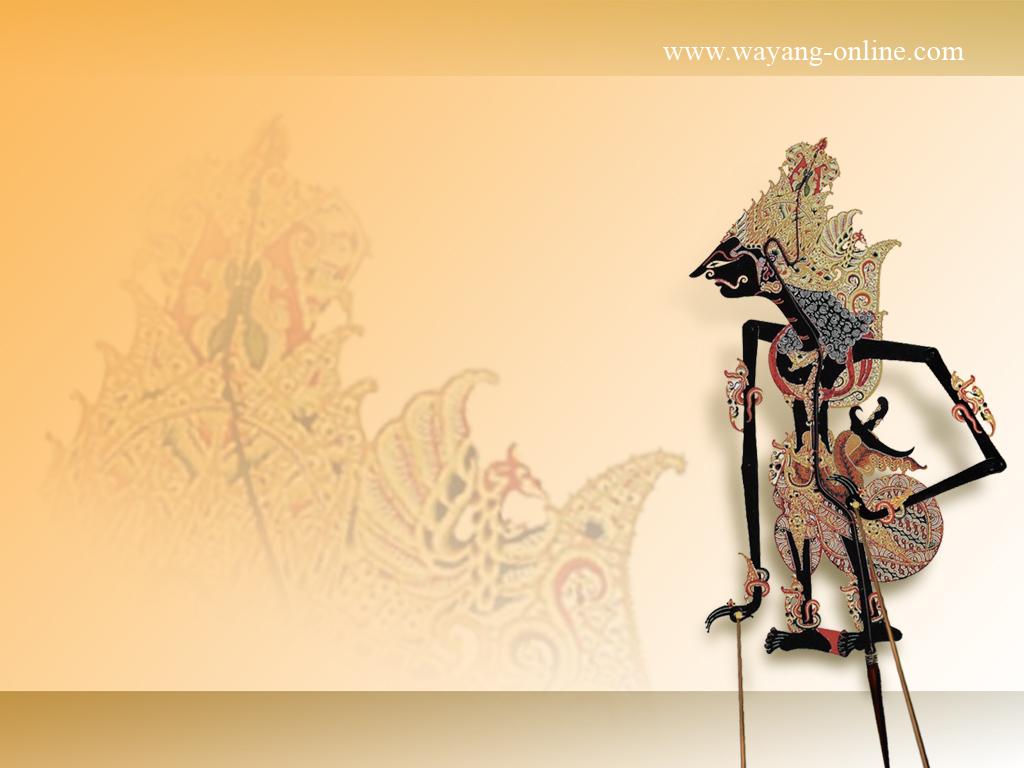 WallpapersKu: Indonesian Wayang Desktop Wallpaper