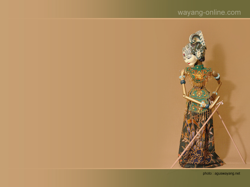 WallpapersKu: Indonesian Wayang Desktop Wallpaper