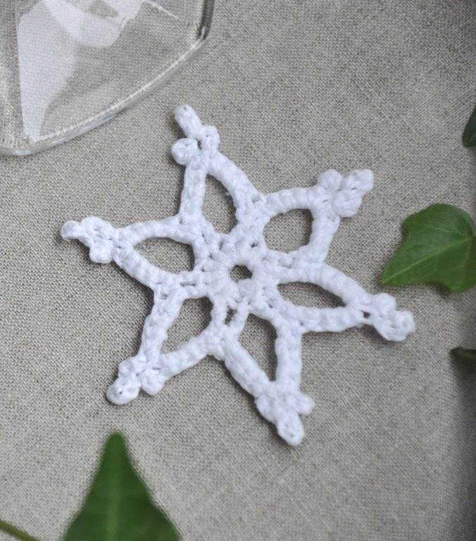 quick easy crochet mini snowflake is an easy project suitable for