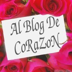 """Premio """"Al Blog de Corazón"""""""