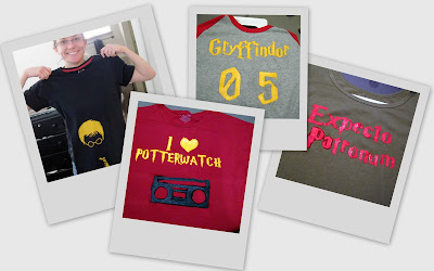 Show and tell harry potter craft day rae gun ramblings for Same day t shirt printing las vegas