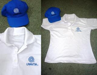 camiseta tipo polo de Urantia