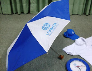 Sombrilla o paraguas con logos de Urantia