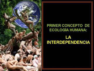 Primer consepto de ecologia humana la interdependencia