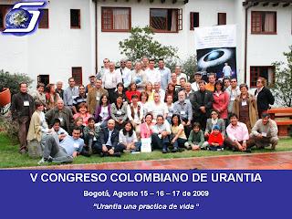 Urantia V congreso de Urantia Bogota
