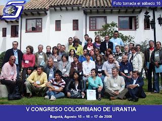 V Congreso Colombiano de Urantia