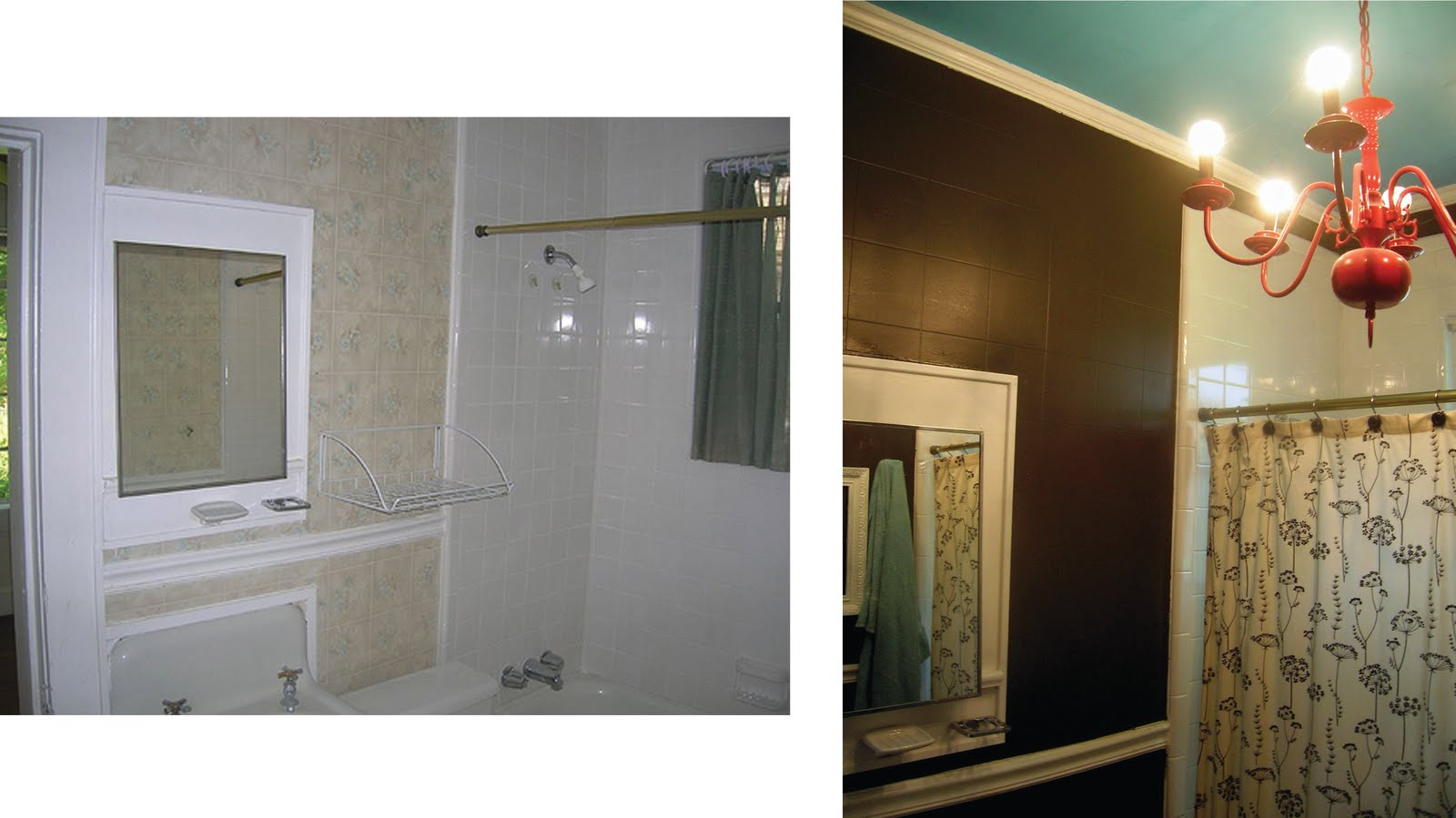 Melissa Does Creative: The New Bathroom: Jailhouse Rock Style