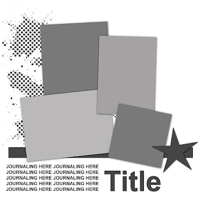 May Template Challenge The80sme_4photo_star_template_ex
