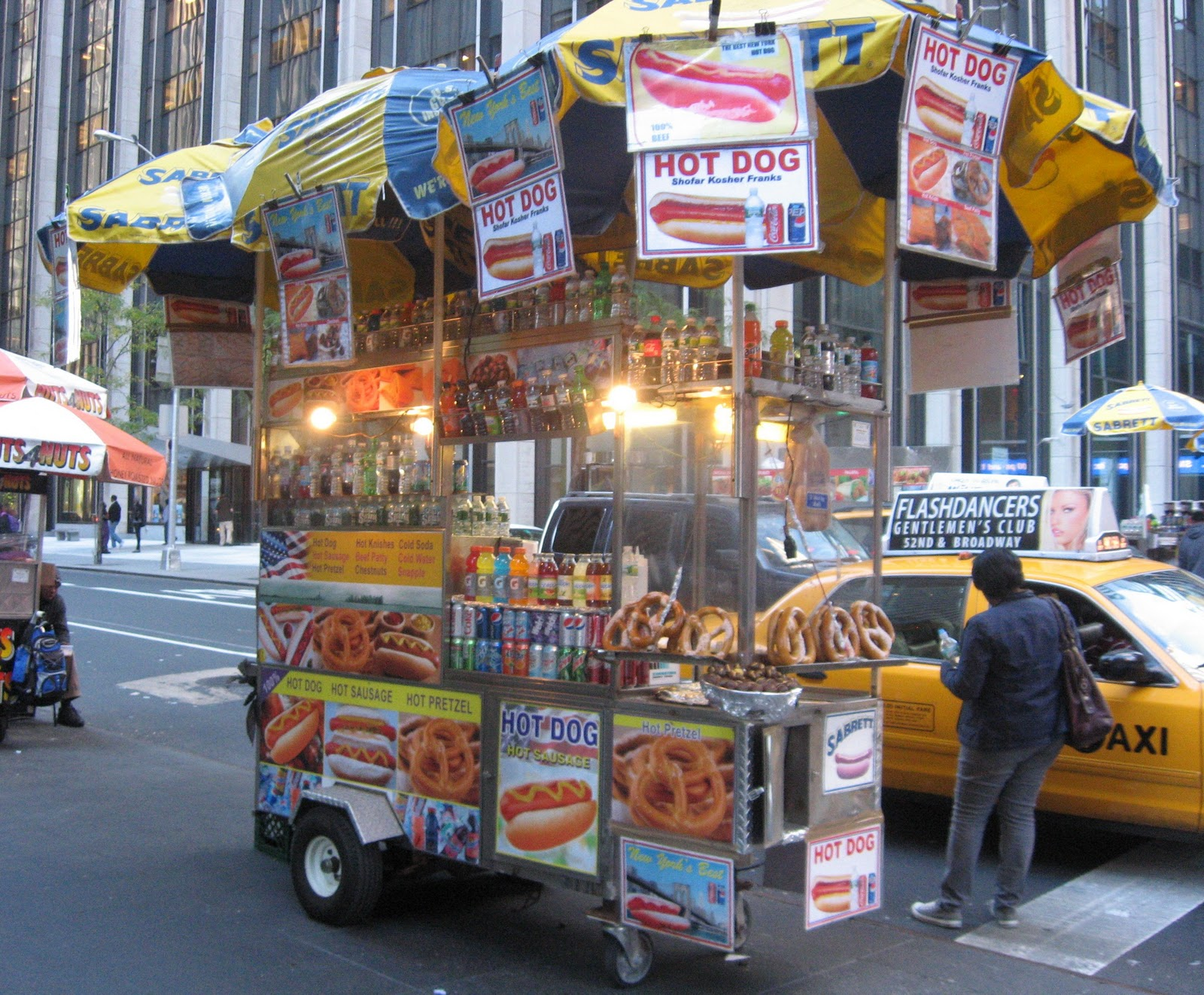 Food cart tour of Midtown