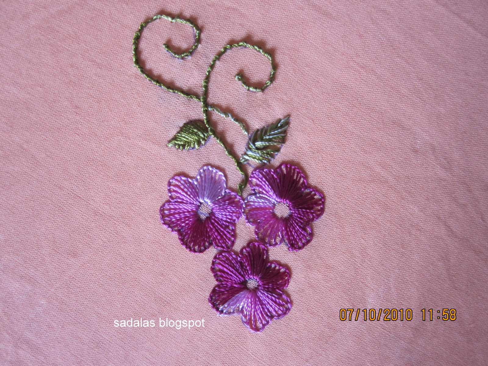 HAND EMBROIDERED DESIGNS | Embroidery Designs