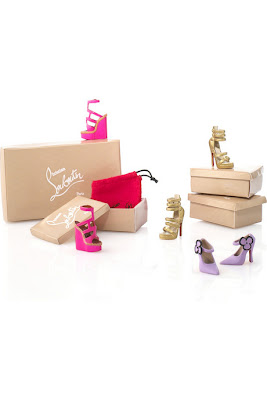 Barbie, Barbie doll, Christian Louboutin, doll, shoes, Dolly Forever Barbie, Dolly Forever Barbie by Christian Louboutin, net-a-porter, Christian Louboutin Barbie