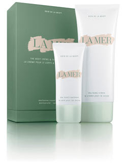 La Mer, The Hand Treatment, The Body Creme, lotion, moisturizer, duo, gift set, two