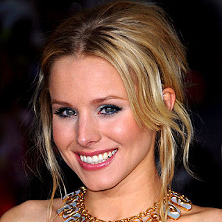 Kristen Bell, pastel makeup, pastel, red carpet
