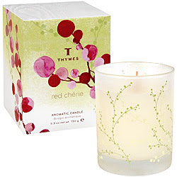 Thymes, Thymes Red Cherie, candle, Red Cherie