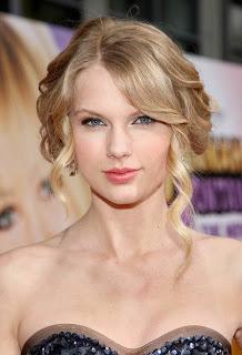 bright pink lipstick, trend-spotting, beauty trend, makeup trend, celebrity, Taylor Swift
