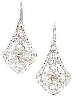 Leslie Greene Dahlia Earrings, Leslie Greene, jewelry, 12 Blings of Christmas