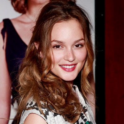 Leighton Meester, Charles Baker Strahan, Gossip Girl, hair, hairstylist, hairstyle