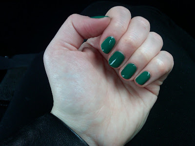 OPI, OPI Jade is the New Black, OPI nail polish, nail, nails, nail polish, lacquer, nail lacquer, manicure, mani, mani of the week