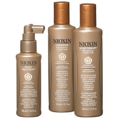 NIOXIN, NIOXIN 3-Part Hair and Scalp System, NIOXIN Thinning Hair System 7 Kit, hair, P&G, P&G Salon Professional, P&G Beauty & Grooming