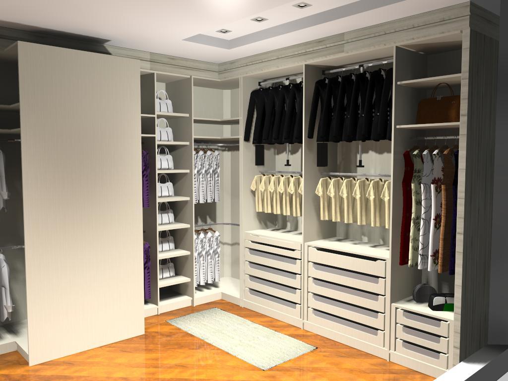 Lauro Goulart: Closet para Casal #C97702 1024 768