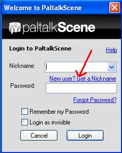 Paltalk Messenger Step:- 1
