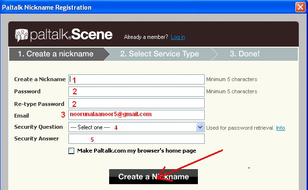 Paltalk Messenger Step:- 2