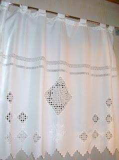 Telas con calados: Cortina para baño