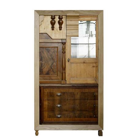 Best interior design ideas armadiature recycled furniture robi renzi - Recycled interior design ideas ...