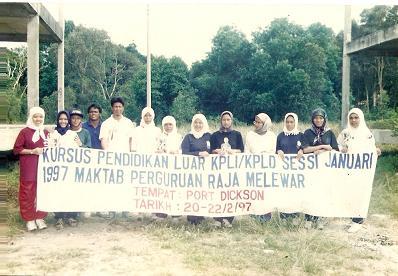 Pendidikan Luar MPRM di Port Dickson 1997