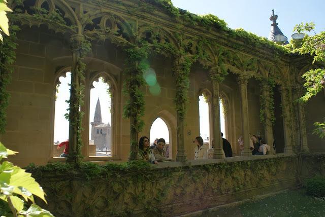 interiores+castillo+palacio+olite