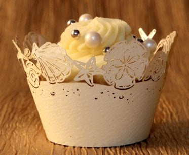 Shell Cupcake Wrapper