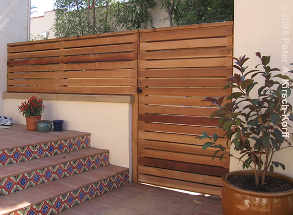 Many little things make me happy inspiration modern fence for Wooden garden screen designs