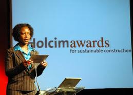 Claudia Alexandre apresentou o Holcim Awards 2007