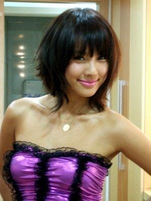 body central women japanese bob hairstyle