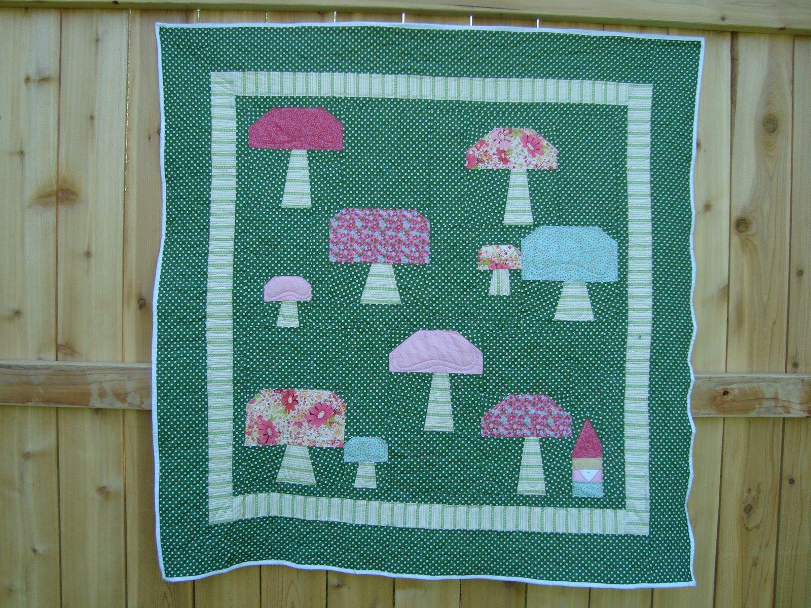 gnome meadows quilt