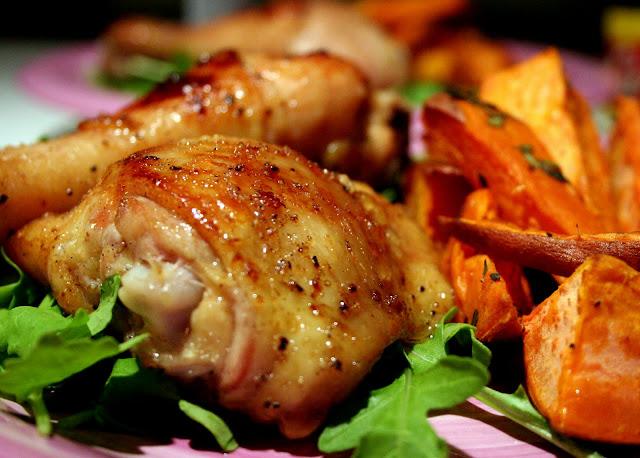 BEST FOOD RECIPES: Cardamom Honey Chicken