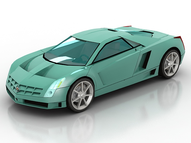 Free 3d Objects Free Download Cadillac Cien Car 3dsmax Object