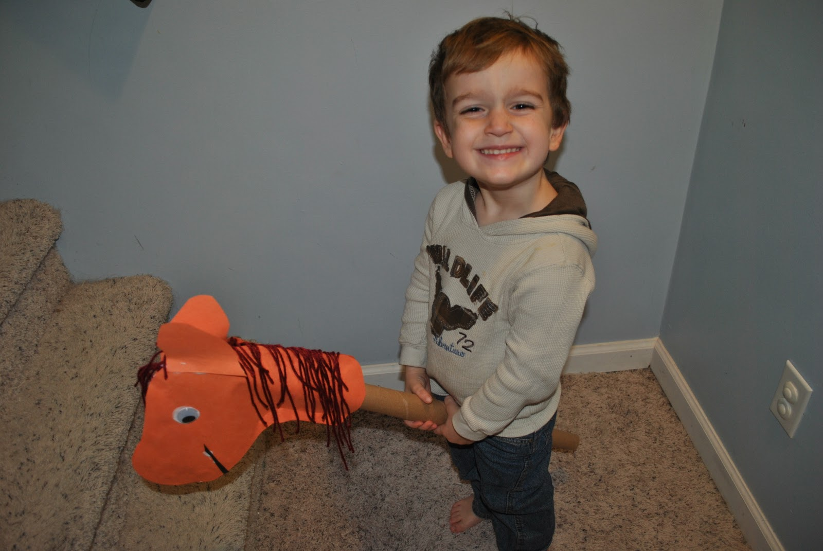 How to Make a Hobby Horse for Kids