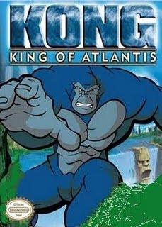 Filme Poster  Kong – O Rei de Atlantis DVDRip RMVB Dublado