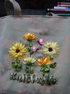گل با بخيه ژاپني