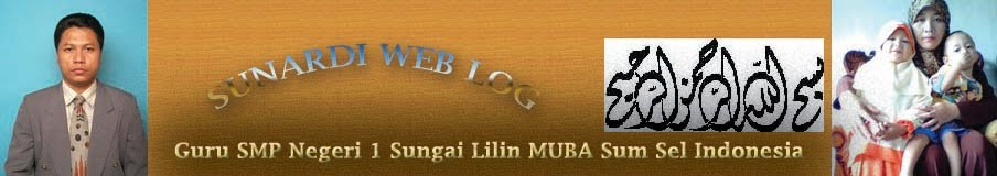 Sunardi Sungai Lilin Musi Banyuasin Sumsel Indonesia