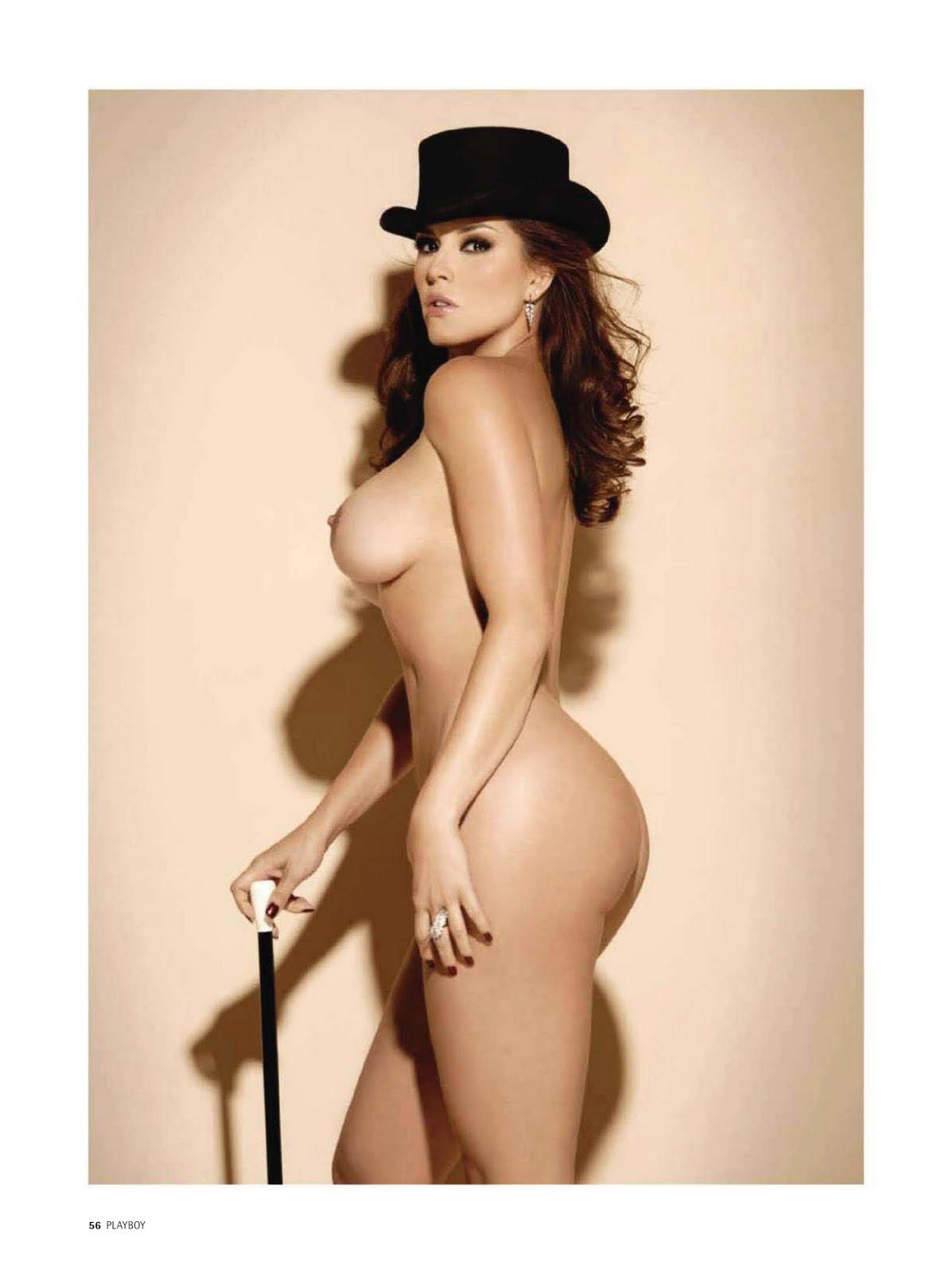 Alicia Machado Totalmente Desnuda
